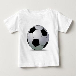 Association Football American Soccer Ball Baby T-Shirt