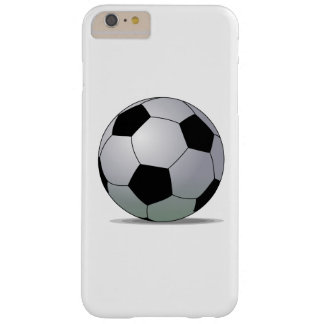 Association Football American Soccer Ball Barely There iPhone 6 Plus Case