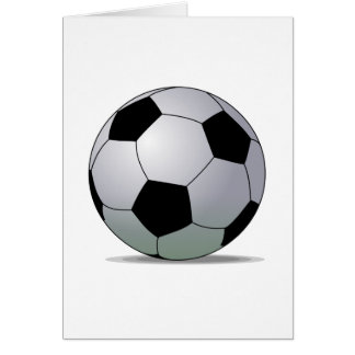 Association Football American Soccer Ball Card