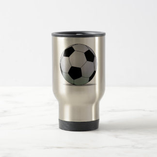 Association Football American Soccer Ball Mug