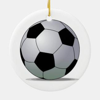 Association Football American Soccer Ball Christmas Ornament