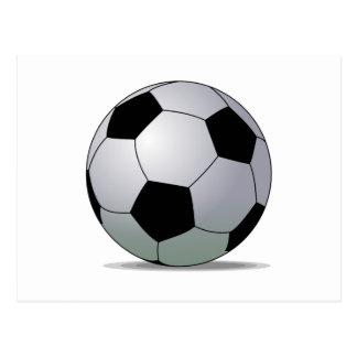 Association Football American Soccer Ball Postcard