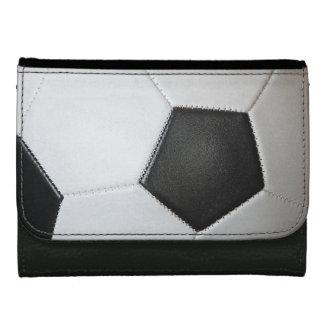 Association Football Soccer Ball Wallet