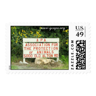 Association for the Protection of Animals Postage Stamp