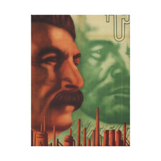 Association of the Soviet Union_Propaganda Poster Canvas Print
