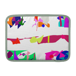 Assorted Abstracts Sleeve For MacBook Air