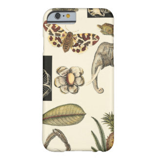 Assorted Animals Painted on Cream Background Barely There iPhone 6 Case