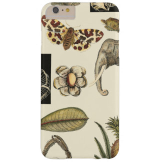 Assorted Animals Painted on Cream Background Barely There iPhone 6 Plus Case
