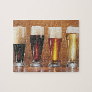Assorted beers and ales jigsaw puzzle