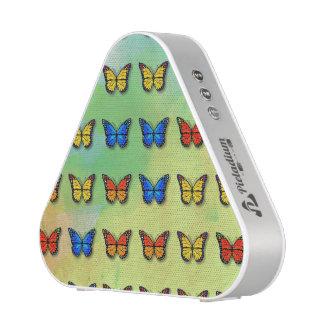 Assorted butterflies pattern bluetooth speaker