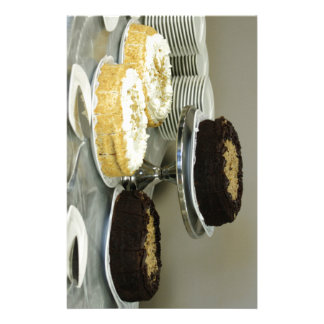 Assorted Cakes Custom Stationery