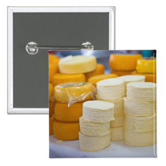 Assorted cheeses 2 inch square button