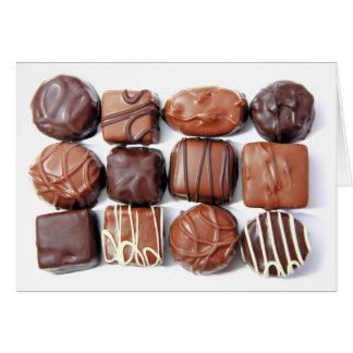 Assorted Chocolates Card