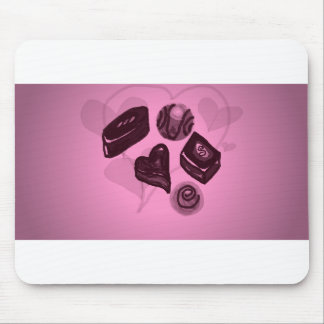 Assorted Chocolates Mouse Pad