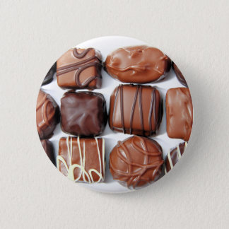 Assorted Chocolates Pinback Button