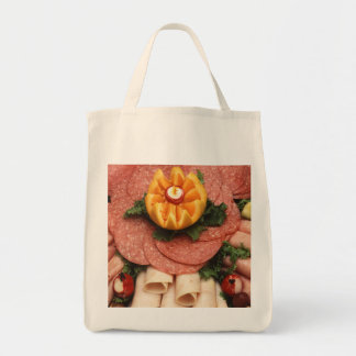 Assorted cold meats tote bag
