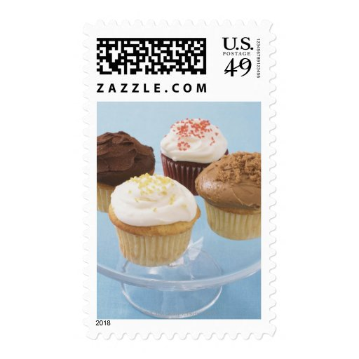 Assorted cupcakes 2 stamp