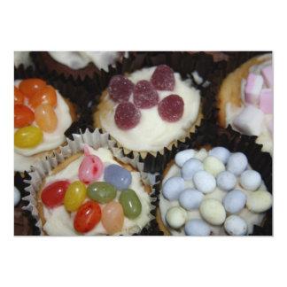 Assorted Cupcakes Invitation