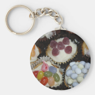 Assorted Cupcakes Key Chain
