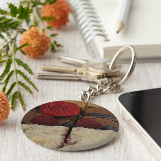 Assorted Desserts Key Chains