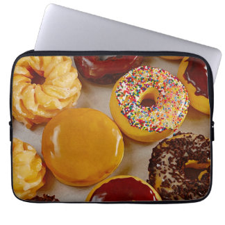 Assorted donuts laptop sleeve