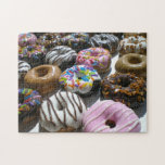 Assorted Donuts Photo Puzzle