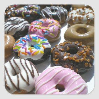 Assorted Donuts Sticker Pack