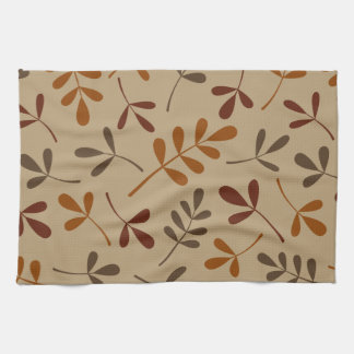Assorted Fall Leaves Design Towels