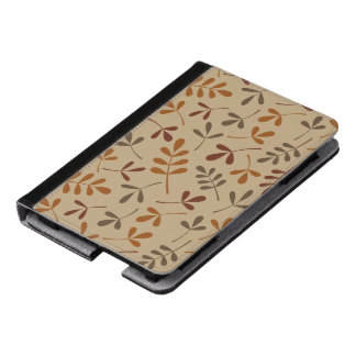 Assorted Fall Leaves Pattern Kindle Case