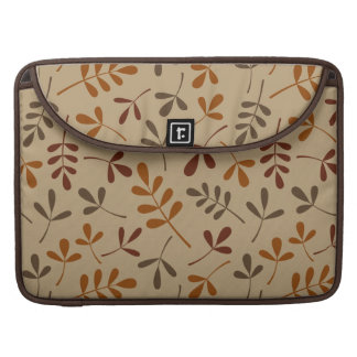 Assorted Fall Leaves Pattern Sleeve For MacBooks