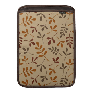 Assorted Fall Leaves Pattern Sleeves For MacBook Air