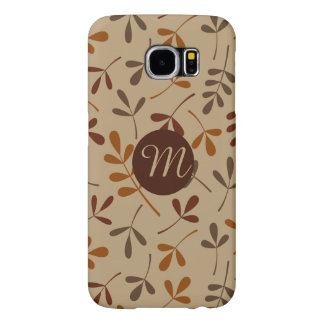 Assorted Fall Leaves Ptn (Personalised) Samsung Galaxy S6 Cases
