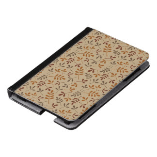 Assorted Fall Leaves Repeat Pattern Kindle Case