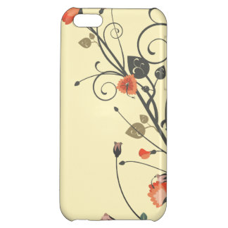 Assorted Flowers 2 Cover For iPhone 5C