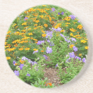 Assorted Flowers Coaster