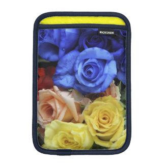 Assorted fresh rose bouquets iPad mini sleeve