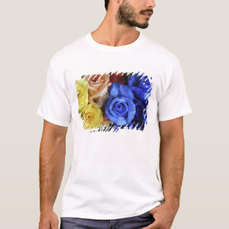 Assorted fresh rose bouquets T-Shirt