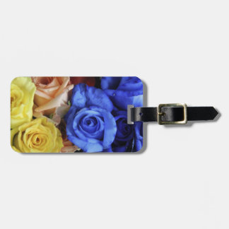 Assorted fresh rose bouquets tag for bags