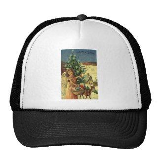 ASSORTED INTERNATIONS CHRISTMAS GREETINGS TRUCKER HAT