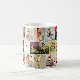 Assorted Pinups Pin Up Art Coffee Mug