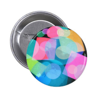 Assorted shapes III Pinback Button