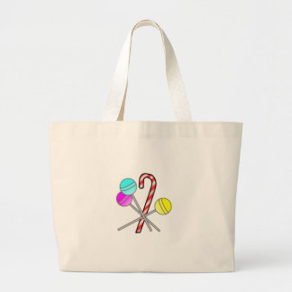 assorted sweets design jumbo tote bag