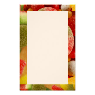 Assorted Sweets(edging) Stationery