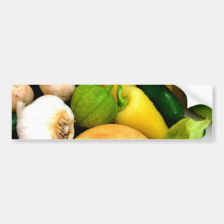 Assorted Vegetables Bumper Sticker