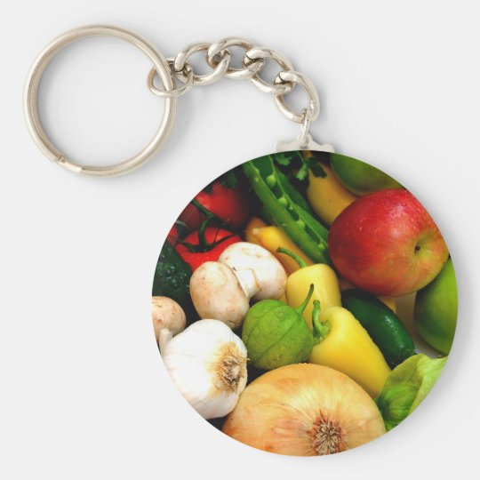 Assorted Vegetables Keychain