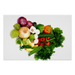 Assorted Vegetables Posters