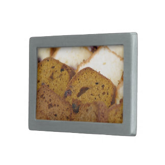 Assortment of Breakfast Breads and Cakes Belt Buckle