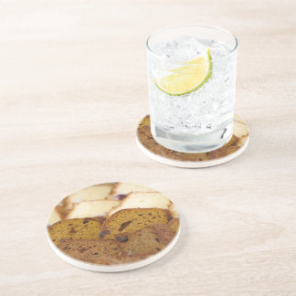 Assortment of Breakfast Breads and Cakes Drink Coaster