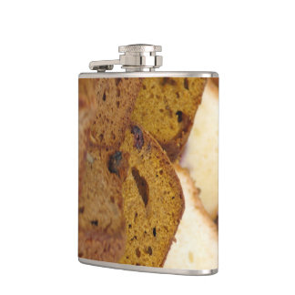 Assortment of Breakfast Breads and Cakes Hip Flask