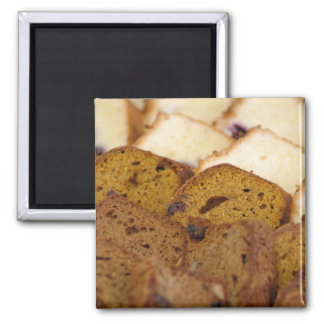 Assortment of Breakfast Breads and Cakes Magnet